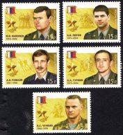 Russia Rossija 2014 (07) Heroes Of Russia - Police, Armed Forces, Rescue, Secret Service - Ongebruikt