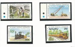 NAU004 - NAURU - 15° ANN. SOCIETA' FOSFATI - VETRATE N. 305-308 - CATALOGO YVERT - Nauru