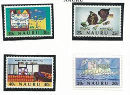 NAU006 - NAURU - 10° ANN. BANCA NAZIONALE N. 319-322 - CATALOGO YVERT - Nauru