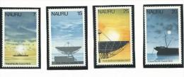 NAU007 - NAURU - 75° ANN. TRASMMISSIONI CABLE E 20° ANN. TRASMISSIONI SATELLITARI N. 149-152 - CATALOGO YVERT - Nauru