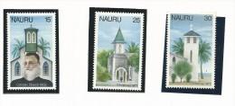 NAU008 - NAURU - NATALE 1977 N. 153-55 - CATALOGO YVERT - Nauru