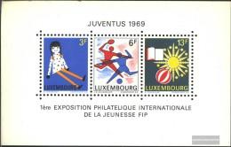 Luxemburg Block8 (kompl.Ausg.) Postfrisch 1969 Juventus 1969 - Blocks & Kleinbögen