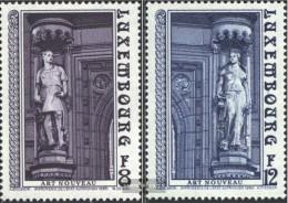 Luxemburg 1014-1015 (completa Edizione) MNH 1980 Architettura - Luxembourg