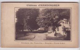 Hardinghem (62) - Carnet De 10 Cartes Du Château. Bon état, Sépia, Non Circulé. - Autres Communes