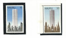 NAU011 - NAURU - APERTURA CASA NAURU A MELBOURNE N. 147-148 - CATALOGO YVERT - Nauru
