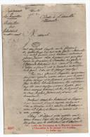 Histoire--Révolution Française-Lettre Des Volontaires De La Meurthe Demandant à L'Assemblée De Les Envoyer  N°32  éd ELD - Histoire