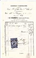 Bordereau D´adjudication, Me Steinmetz, Commissaire-priseur à Abbeville - Vente Des 28 Et 29/01/1878 - 1800 – 1899