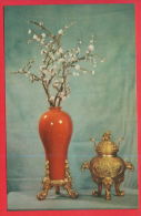 163294 / Artist China Chine Cina - Vase With Flowers Plums And Censers PRODUCTION Fuzhou - Fine Arts
