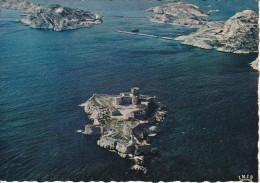Francia--Marseille--Vue Aerienne Du Chateau D'If Et Les Illles-- - Castillos