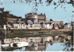Francia--Amboise--1966--En Tourraine,Les Chateaux De La Loire--Cachet Touraine - Castillos