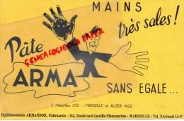 13 - MARSEILLE - BUVARD PATE ARMA - ETS ARMANDON 143 BD CAMILLE FLAMMARION - Unclassified