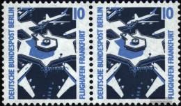 Berlin (West) 798A Orizzontale Coppia MNH 1988 Sehenswïürdigkeiten - Nuevos