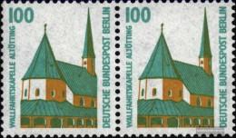 Berlin (West) 834A Titoli Orizzontale Coppia MNH 1989 Sehenswïürdigkeiten - Nuevos