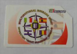 USATE  ESERCITO ITALIANO MULTINATIONAL BRIGADE WEST - Public Practical Advertising