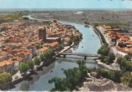 Francia--Agde Sur Mer--1966--Vue Generale Et L'Herault--Cachet--Prevoyance - Agde
