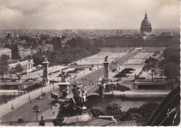 Francia--Paris--1957--Pont Alexandre III--Explanade Et Hotel Des Invalides--Cachet-Paris VI-- R.ClerI - Alberghi & Ristoranti