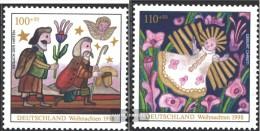 BRD (BR.Deutschland) 2023-2024 (kompl.Ausg.) Postfrisch 1998 Weihnachten - [7] République Fédérale