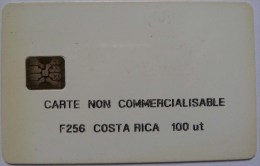 COSTA RICA - Schlumberger - F256 100 Units - Carte Non Commercialisable