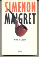 """""""MAIGRET: PIETR EL LETÓN"""" DE GEORGES SIMENON . NOVELA DE ACCIÓN Y MUCHAS AVENTURAS. GECKO. - Action, Aventures"""