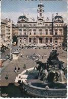 Francia---Lyon--1963--Place Des Terraux--Cachet-Dijon Gare--Cote D'Or - Lyon