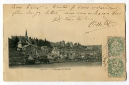 Ref 196 - AUTUN - Faubourg De BREUIL (1906) - Autun