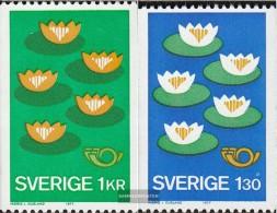 Schweden 972-973 (kompl.Ausg.) Postfrisch 1977 Nordische Zusammenarbeit - Suède