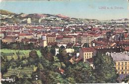 AK 0062  Linz An Der Donau - Tolle Häuseransicht Um 1920 - Linz