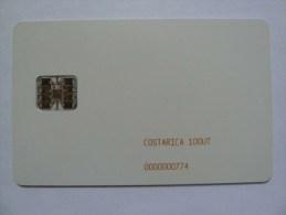 COSTA RICA - Schlumberger - Chip - 100 Units - Mint