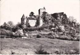 Francia--Macon--1966--Brancion--Le Chateau--Ballon--Paris-R La Boetie - Castillos