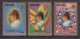 Belize 1982 Princess Of Wales 21st Birthday MNH - Belize (1973-...)