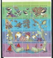 COC004 - COCOS ISLAND - FOGLIETTO 1994 - CATALOGO YVERT - Isole Cocos (Keeling)