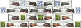 DDR WZd576-WZd587 (completa Edizione) MNH 1984 Stretto - Se-Tenant