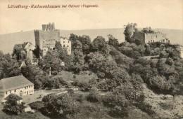 CPA - Environs D'OTTROTT (67) - Les Ruines Des Châteaux De Lützelburg-Rathsamhausen - France