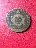 """1 SOL AUX BALANCES """"1793 T"""" - 1789-1795 Period: Revolution"""