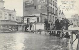 PARIS: LA GRANDE CRUE DE LA SEINE -GRENELLE - Inondations De 1910