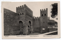 Espagne--TOLEDO--1957--Porte Alphonse VI--cpsm 14 X 9  N°142205 éd Manipel - Toledo