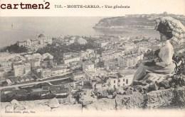 MONTE-CARLO VUE GENERALE MONACO 1900 - Monaco