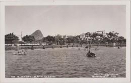 Postcard ,carte Photo,only,1935,brésil,rio De Janeiro,jardim Gloria,direitos Reszervados Preising 705 - Rio De Janeiro