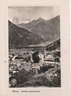 AOSTA -  VERRES - SCORCIO PANORAMICO - Aosta