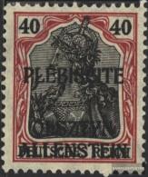 Allenstein 7 MNH 1920 Germania - Germania