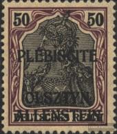 Allenstein 8 Postfrisch 1920 Germania - Abstimmungsgebiete