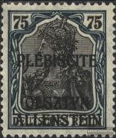 Allenstein 9 MNH 1920 Germania - Germania