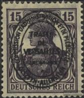Allenstein 17a MNH 1920 Germania - Germania