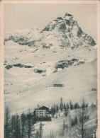 AOSTA -  IL CERVINO - LA CONCA DEL BREUIL ED I DUE GRANDI ALBERGHI - Aosta