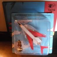 Collection En Avion Tintin N.2 Le Carreidas 160. De Vol 714 Pour Sydney Et La Figurine Lazlo Carreidas - Avions & Hélicoptères