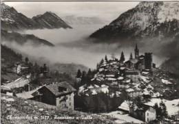AOSTA -  CHAMPORCHER - PANORAMA E VALLE - Aosta
