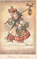 Cpa/pk 1914 Bonne Année Christmas - Illustrators & Photographers