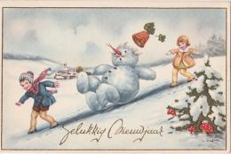 Cpa/pk Bonne Année Christmas - Illustrateurs & Photographes