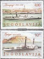 Jugoslawien 1816-1817 (completa Edizione) MNH 1979 Danube Conference In Belgrado - Nuevos