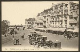 TROUVILLE Rare La Place Du Casino (LL) Calvados (14) - Trouville